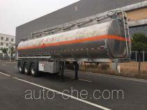 Chengtong CSH9402GRY flammable liquid aluminum tank trailer