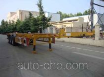 CIMC Liangshan Dongyue CSQ9351TJZG container transport trailer