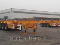 CIMC Liangshan Dongyue CSQ9354TJZ container transport trailer