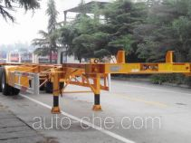 CIMC Liangshan Dongyue CSQ9354TJZG container transport trailer