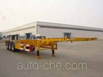 CIMC Liangshan Dongyue CSQ9370TJZ container transport trailer