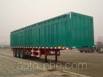 CIMC Liangshan Dongyue CSQ9381XXY box body van trailer