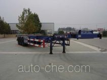 CIMC Liangshan Dongyue CSQ9385TJZG container transport trailer