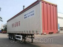 CIMC Liangshan Dongyue CSQ9400XXYC box body van trailer