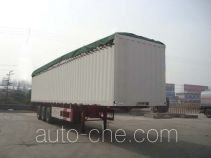 CIMC Liangshan Dongyue soft top box van trailer