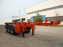 CIMC Liangshan Dongyue CSQ9401TJZ container transport trailer