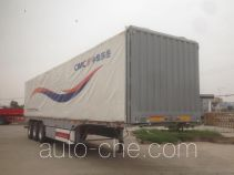 Liangshan Dongyue box body van trailer