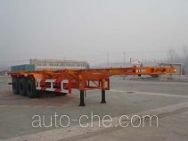 CIMC Liangshan Dongyue CSQ9402TJZG container transport trailer