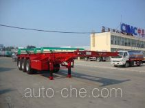 CIMC Liangshan Dongyue CSQ9403TJZ container transport trailer