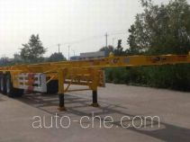 CIMC Liangshan Dongyue CSQ9405TWY dangerous goods tank container skeletal trailer