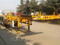 CIMC Liangshan Dongyue CSQ9406TJZ container transport trailer