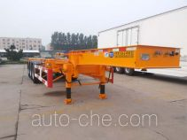 CIMC Liangshan Dongyue CSQ9406TJZG container transport trailer