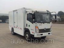 通途牌CTT5040XXYGW1BEV型纯电动厢式运输车