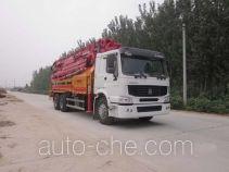 Tongya CTY5321THB concrete pump truck