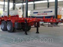 Tongya CTY9350TWY20 каркасный полуприцеп контейнеровоз для контейнеров-цистерн с опасным грузом