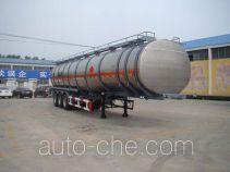 Tongya CTY9401GRY полуприцеп цистерна алюминиевая для легковоспламеняющихся жидкостей