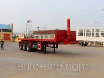 Tongya CTY9401ZZXP flatbed dump trailer