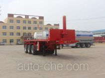 Tongya CTY9402ZZXP flatbed dump trailer