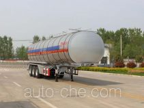 Tongya CTY9403GRYLC flammable liquid aluminum tank trailer