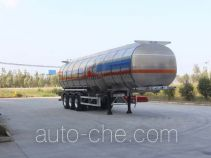 Tongya CTY9404GRYLB flammable liquid aluminum tank trailer