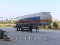 Tongya CTY9406GRY flammable liquid aluminum tank trailer