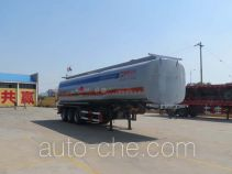 Tongya CTY9407GRY flammable liquid tank trailer