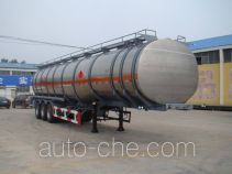 Tongya CTY9407GYY aluminium oil tank trailer