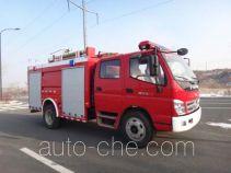 飞雁牌CX5110GXFSG40型水罐消防车