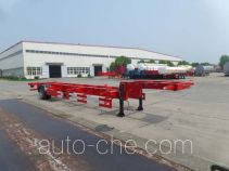 JAC Yangtian CXQ9180TJZ empty container transport trailer