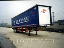 JAC Yangtian CXQ9271XXY box body van trailer