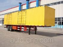 JAC Yangtian CXQ9274XXY box body van trailer