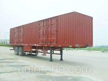 JAC Yangtian CXQ9330XXY box body van trailer
