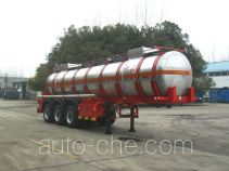 JAC Yangtian CXQ9380GFW corrosive materials transport tank trailer