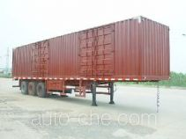 JAC Yangtian CXQ9393XXY box body van trailer