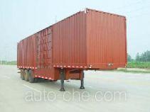 JAC Yangtian CXQ9394XXY box body van trailer