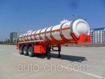 JAC Yangtian CXQ9400GFW corrosive materials transport tank trailer