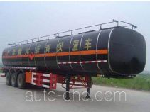 JAC Yangtian CXQ9400GLYBW liquid asphalt transport insulated tank trailer