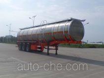 JAC Yangtian CXQ9400GRYD flammable liquid aluminum tank trailer