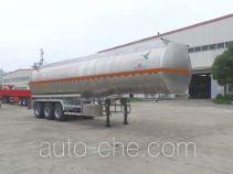 JAC Yangtian CXQ9400GRYK flammable liquid aluminum tank trailer