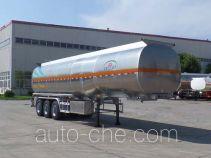 JAC Yangtian CXQ9400GYS aluminium liquid food tank trailer