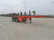 JAC Yangtian CXQ9400TWY каркасный полуприцеп контейнеровоз для контейнеров-цистерн с опасным грузом
