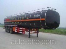 JAC Yangtian CXQ9401GHYBW insulated chemical liquid transport trailer