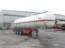 JAC Yangtian CXQ9401GYS liquid food transport tank trailer