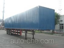 JAC Yangtian CXQ9404XXY box body van trailer