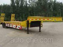 旭隆牌CXS9280TDP型低平板运输半挂车