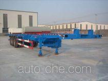 旭隆牌CXS9370TJZ型集装箱运输半挂车