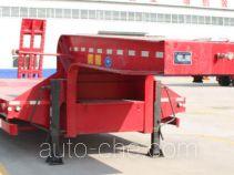 龙亿达牌CYL9400TDP型低平板半挂车