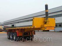 华威翔运牌CYX9400ZZXP型平板自卸半挂车