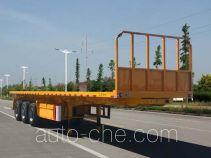 华威翔运牌CYX9403ZZXP型平板自卸半挂车