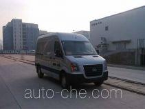 Huanghai DD5045XXYDM box van truck